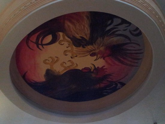 Palomino's Mexican Restaurant: Ceiling painting