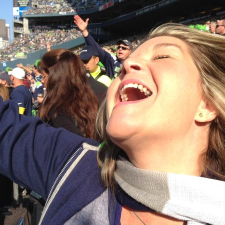 CenturyLink Field : love my Hawks