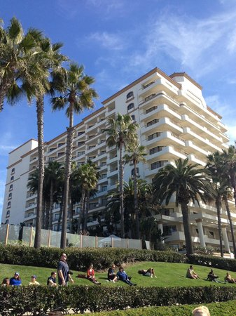 The Waterfront Beach Resort, A Hilton Hotel: Post race