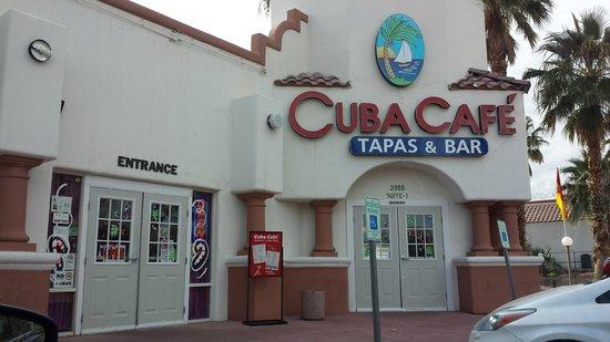 Cuba Cafe Restaurant : Location