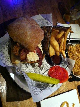 East Village Grille: Chicken Sandwich