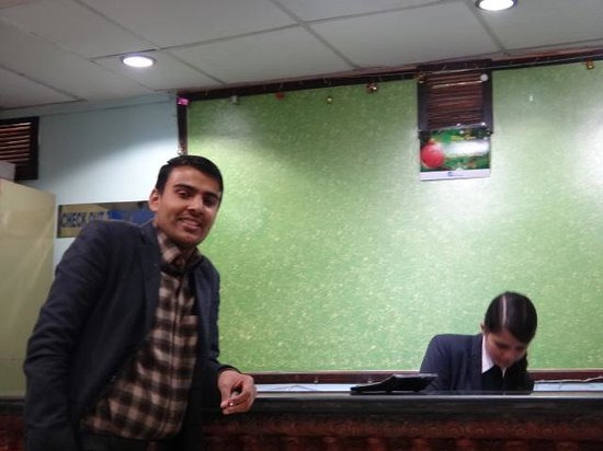 Hotel Access Nepal : the reception team