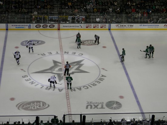 American Airlines Center: St. Louis Blues @ Dallas Stars