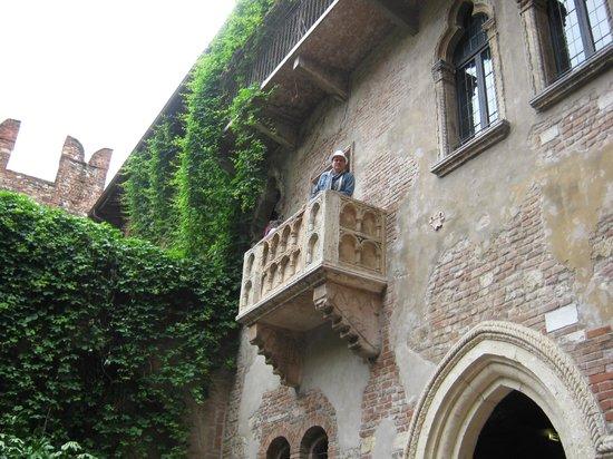 Casa di Giulietta: Balcon de Julieta