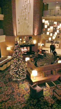 Lincolnshire Marriott Resort: Main lobby