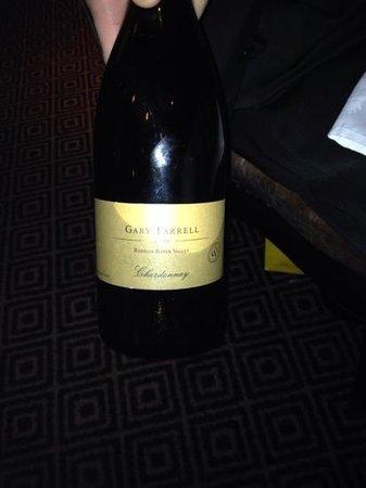 Grill 23 & Bar : Gary Farrell Chardonnay
