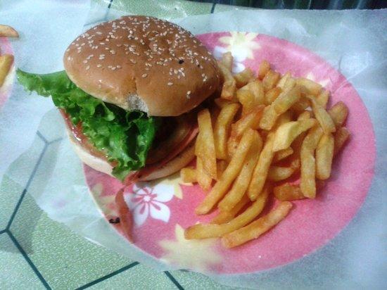 Heladeria Popis : hamburguesa