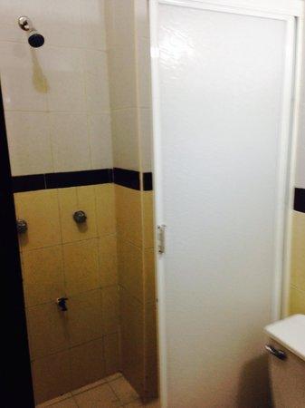Hotel Hacienda Agua Azul : Baño