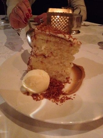 Grill 23 & Bar : Famous Coconut Cake