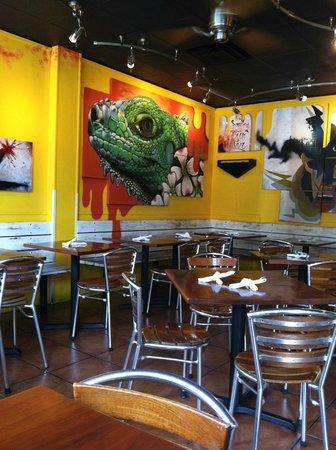 Salsa Mexican Caribbean Restaurant: Inside