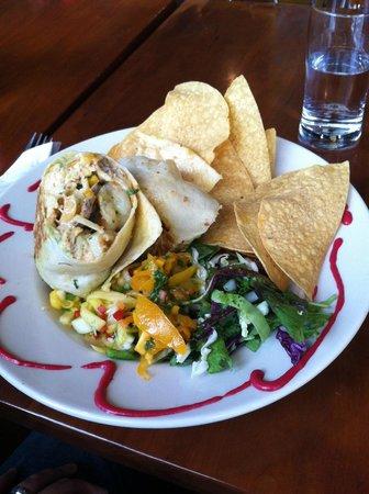 Salsa Mexican Caribbean Restaurant: Burrito