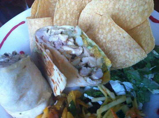 Salsa Mexican Caribbean Restaurant : Burrito