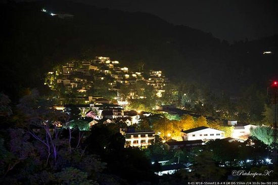Foto Hotel: View at night