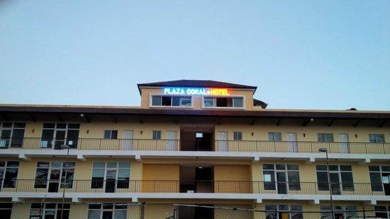 Hotel Plaza Coral: Hotel