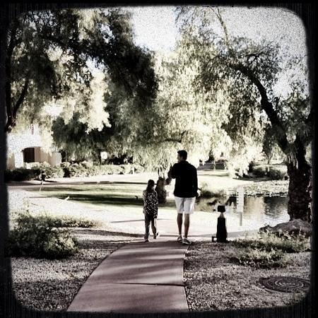 Fairmont Scottsdale Princess : walk to breakfast!