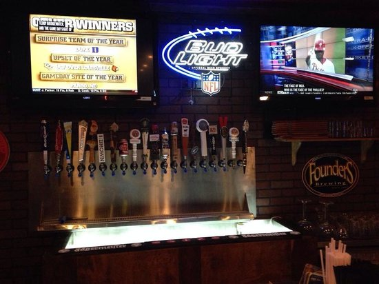 Tuck's Tap and Grill: The Beer Wall