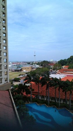 Hotel Equatorial Melaka: Pool view