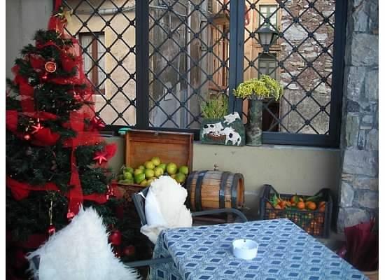 Antico Caffe San Giorgio : Fresh lemons next to the Christmas tree