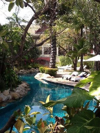 Hyatt Regency Hua Hin : quit spots in lovely garden pool resort