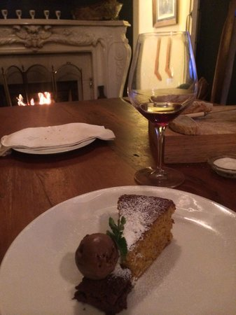 Sublime Lodge: Dinner - dessert
