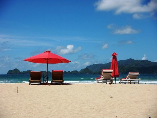 Banyuwangi, Indonesia: look at the sand