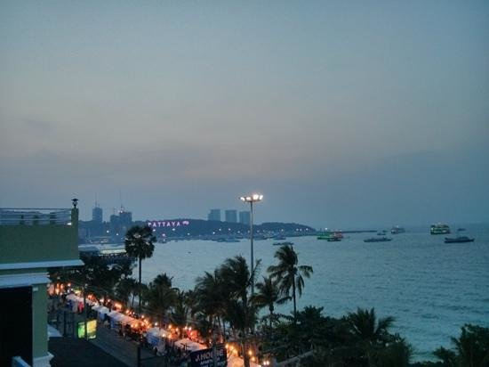 Baywalk Residence Pattaya: view from 5th floor