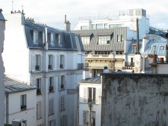 Est Hotel Paris : La vista dalla nostra stanza