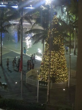 Mantra Esplanade Cairns: view from balcony of lagoon