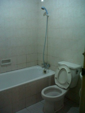 Hotel Mirah Sartika: bathroom