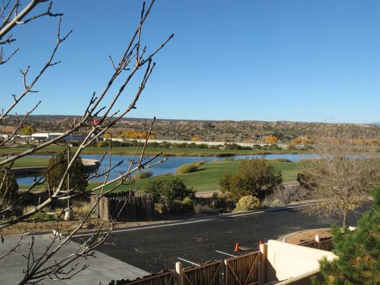 Homewood Suites Santa Fe: view of golf course from our 2nd floor casita room