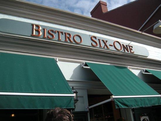 Taste the Town Tours: bistro six one