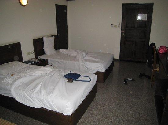 Royal Panerai Hotel Chiangmai : The bedroom.