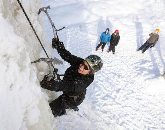 Haliburton, Canada: Make Peace with Winter- Ice climbing