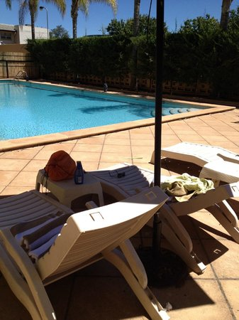 Chifley on South Terrace : nice pool with  lounges and chairs