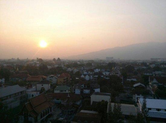 Amora Resort Tapae Chiangmai : Deluxe room view