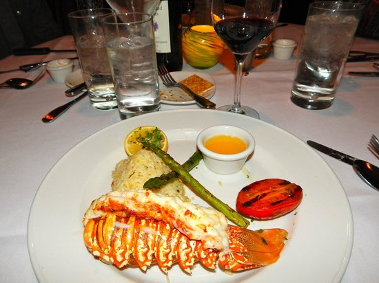 Chart House: Lobster tail was very good
