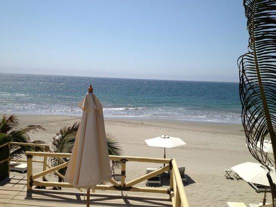 Claro de Luna Hotel: Vista al mar