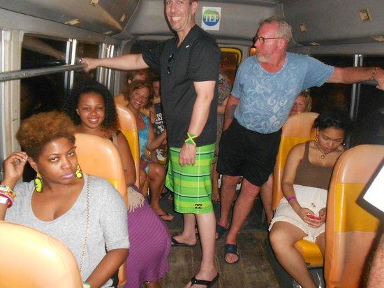 One Love Bus Bar Crawl: One Love!!!!!