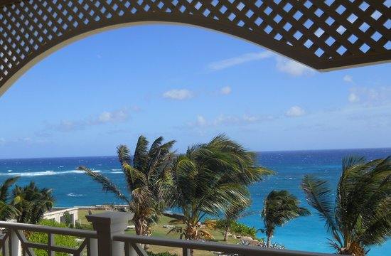 The Crane Resort: view #1 from our lanai
