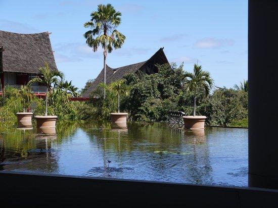 Le Meridien Tahiti: what the main buildings look like