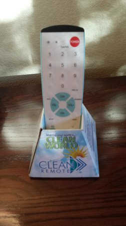 BEST WESTERN Dry Creek Inn: Clean TV Remote Control