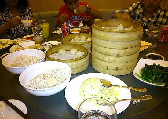 Din Tai Fung Pavilion KL : Dumplings... We had at least 15 orders of them among six of us.