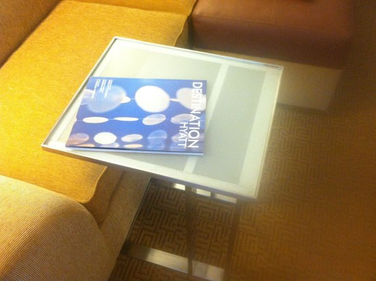 Hyatt Place Houston/Sugar Land: Can u see the dirty table