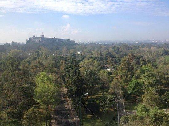 Grand Fiesta Americana Chapultepec: breathtaking view of Chapultepec