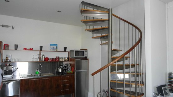 Two Four Two Boutique Apartments: Staircase