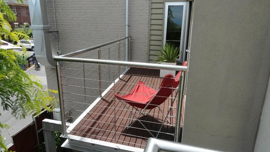 TWOFOURTWO Boutique Apartments: Terrace