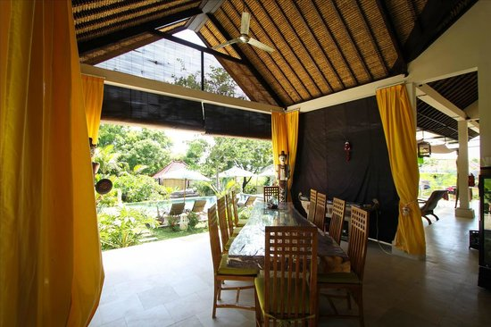 Minabali Bunga'lo: Breakfast and meal area