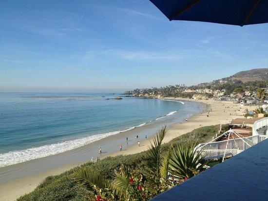 Laguna Riviera Beach Resort: Looking north from balcony