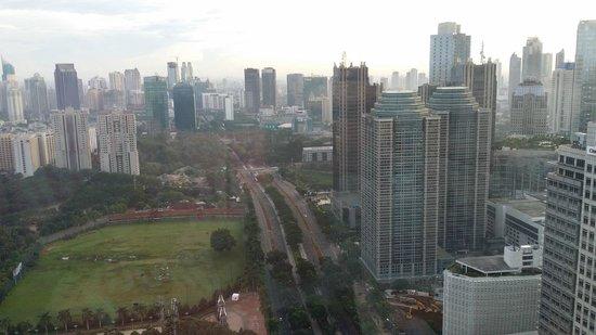HARRIS Suites FX Sudirman: morning view