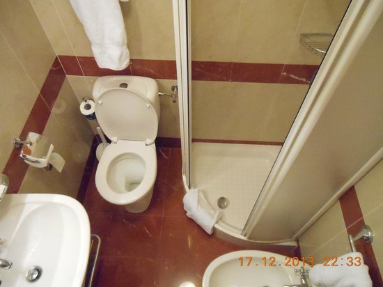 WORLDHOTEL Cristoforo Colombo: とても狭い!